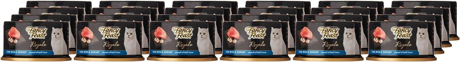 Purina Fancy Feast Royale Tuna Shrimp Cat Food 85g x 24