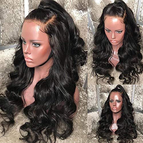 Futaikang Parrucche lace front 360 parrucca donna capelli veri neri ondulato lace front wigs human hair parrucche donna capelli veri capelli umani brasiliani vergini naturali Extension
