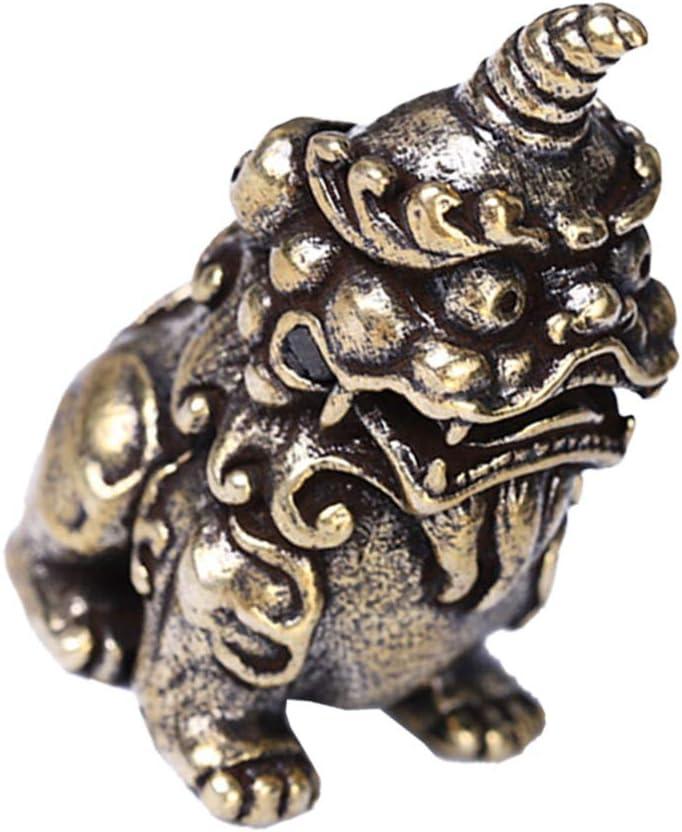 Sale BESPORTBLE Chinese Feng Shui Kylin Brass Statue Wealth Figurine Luxury