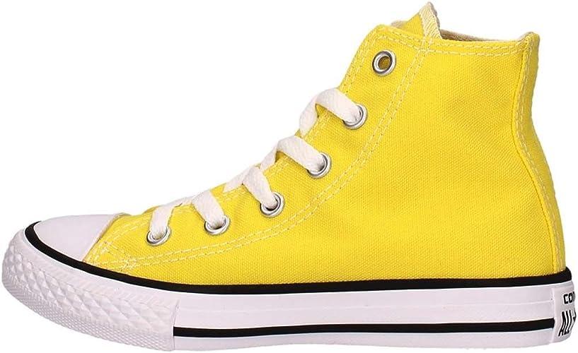 Converse All Star Hi Youth J Scarpa fresh yellow