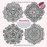 Libro de colorear para adultos Mandala - Una idea mediocre que genera entusiasmo llegara mas lejos que una gran idea que no inspire a nadie.
