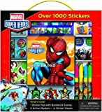 Bendon Marvel Super Heroes Sticker Box with Handle Activity Set by Bendon Inc.