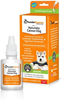 ThunderEssence Dog Calming Essential Oils | All-Natural Lavender, Chamomile and Egyptian Geranium | Vet Recommended