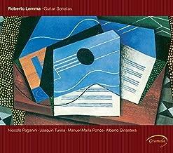 Guitar Sonatas by Lemma, Paganini, Turina, Ponce, Ginastera (2011-01-11?