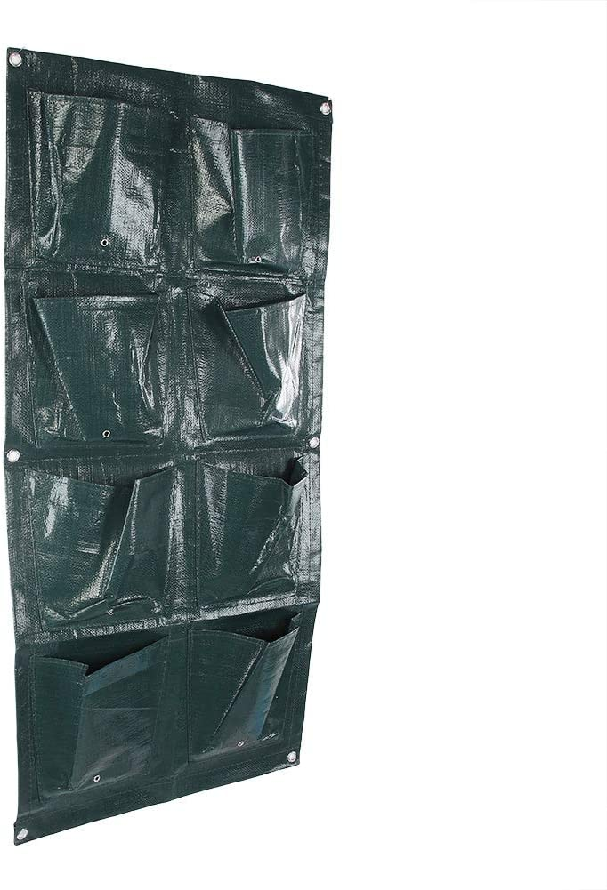 Quantity limited 8 Pocket Grow Bags Garden Planter Wall-mounted Max 89% OFF Pouch Flower Ba