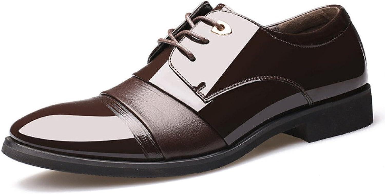 LEDLFIE Herren Echtleder Schuhe Business Kleid Leder Schuhe Schnürschuhe Hochzeitsschuhe  | Diversified In Packaging