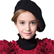 Fakeface Cute Kids Hat Dome Beret Artist Dome Beret Cap Headwear French Style Costume