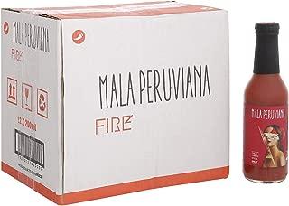 Mala Peruviana Tomato Juice Fire - 200 ml (Pack of 12)