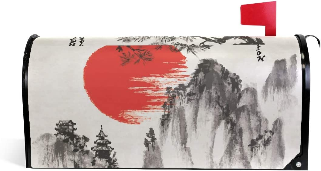JSTEL Mailbox Cover Magnetic 25.5 2021 new x inch New arrival 20.8 Standard Japa Size