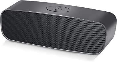 Wireless Bluetooth V5.0 Speaker with Built-in Microphone, 10W Stereo Loud Sound Rich Bass Portable Speaker, 1200mAh, Support Phone Calls/AUX/TF/U-Disk, 33ft Wireless Range