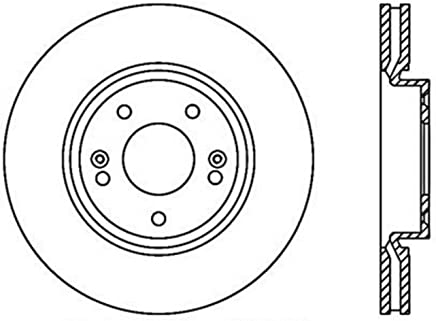 1 Pack Front Right StopTech 127.50028R Sport Drilled//Slotted Brake Rotor