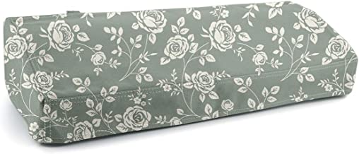 Silhouette Cameo 3 Dust Cover,Silhouette of America-Cameo 3 Cloth Cover, Blue Flower Print Cameo 3Protector Shield, Universal Size 21.5