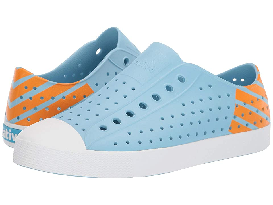 Native Shoes Jefferson (Sky Blue/Shell White/Lazer Glow Block) Shoes