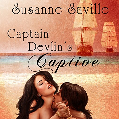 Captain Devlin's Captive audiobook cover art