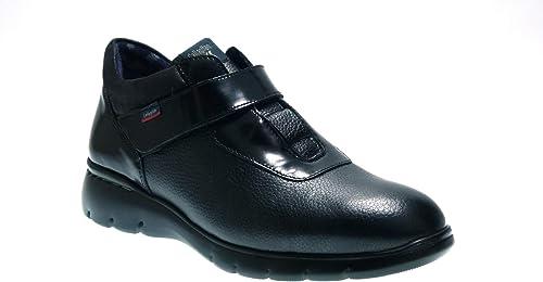 CALLAGHAN Zapato Sport DE Piel negro con Velcro 16901 para mujer