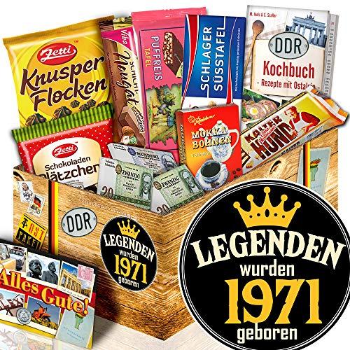 Legenden 1971 / Geschenke Ideen für Sie / Schokoladen Box Ostpaket