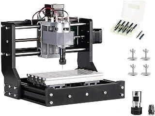 HUKOER 1610PRO Máquina CNC Actualizada Control GRBL 3 Ejes Máquina de grabado para Acrílico Plástico PVC Madera (Área de trabajo 180x100x45 mm)