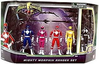 Power Rangers Mighty Morphin Mighty Morphin Rangers Set Bonus Black Ranger!
