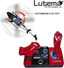 Lutema- Lutema Simulador de Vuelo de Helicóptero, 2.4 GHz,