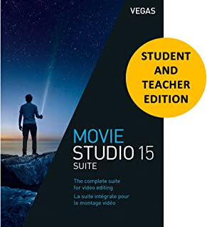 Magix Vegas Movie Studio 15 Suite for Students & Teachers