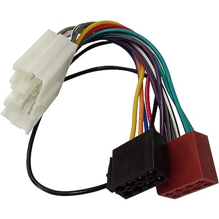 Aerzetix Aa3 Iso Konverter Adapter Kabel Radioadapter Radio Kabel Stecker Iso Kabel Verbindung Auto