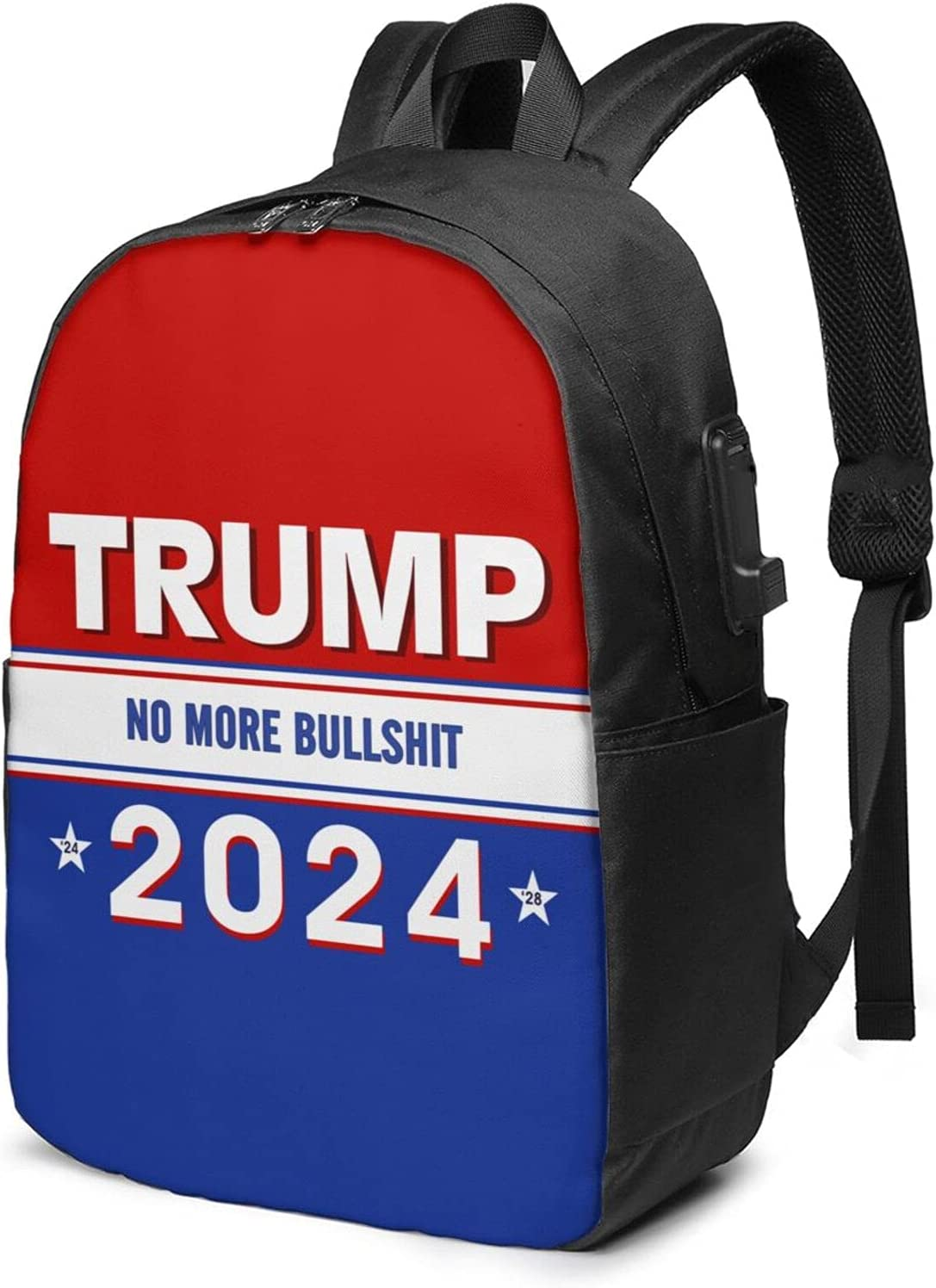 Trump Super sale 2024 Laptop Backpack With Usb Charging Inch Large Port Fashionable 17