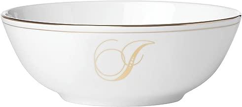 Lenox Federal Gold Script Monogram Dinnerware Placesetting Bowl, I