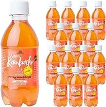 Wow Kombucha ワオコンブチャ ザクロ&アップル 植物性発酵飲料 (300ml/各15本入)
