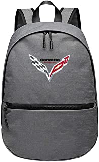 VIKIOD Corvette Car Logo Primary and Secondary Fashion Large Capacity School Bag