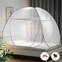 waterfail Mosquito Net Bed Canopy Pop Up Foldable Double Door with Bottom Anti Mosquito Bites for Outdoor Camping Travel