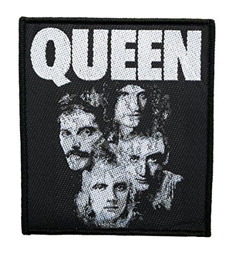 Queen Band Logo Aufnäher Patch Gewebt & Lizenziert !!