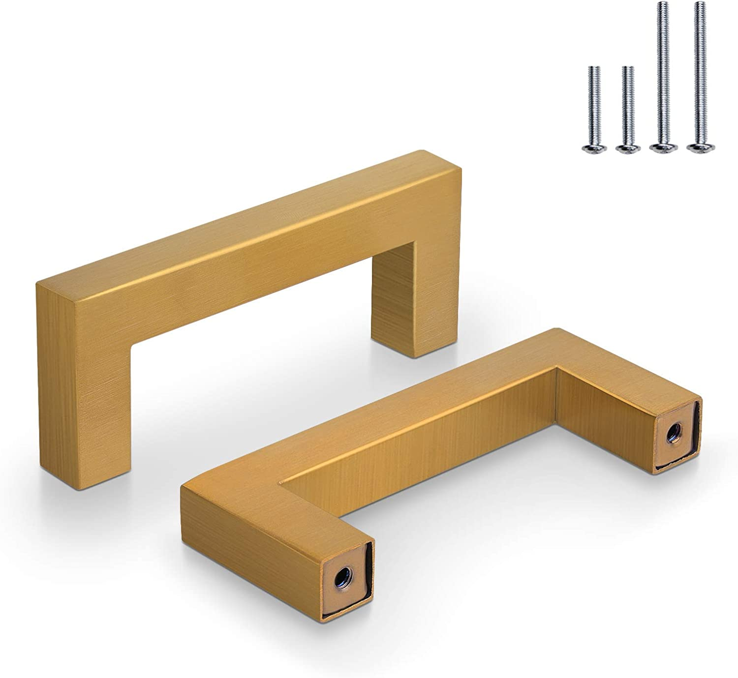 20 Pack Probrico Hole Centers 3 inch B Gold New Shipping Free 76mm Square Attention brand Corner