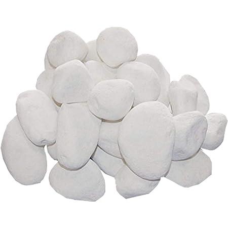 Kratki Zubehör Biokamine Ethanolkamin Keramik Steine 1 Kg Weiß Dekosteine