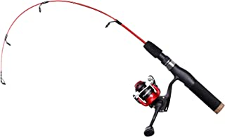 PLUSINNO Ultralight Winter Ice Fishing Rod Reel Combo 28...