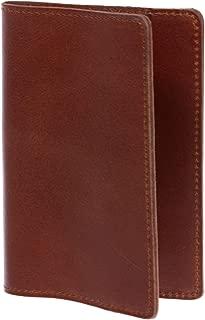 100% Soft Leather Passport Cover - Plain Leather Holder Slim Sleeve Case