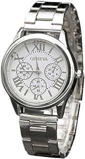 Womens Watches Clearance Sale,Hengshikeji Analog Quartz Wrist Watches Casual Stainless Steel Sport Quartz Hour