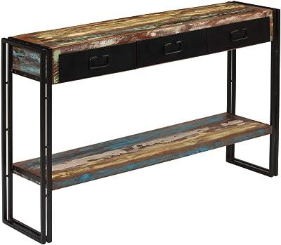 Aingoo Moderna Mesa de Consola Industrial para sofá con ...