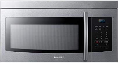 Samsung ME16K3000AS Over-The-Range Microwave, 1.6 Cubic Ft, Stainless Steel