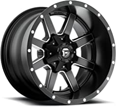 FUEL Maverick NBD-Matte BLK MIL Wheel with Painted (20 x 12. inches /6 x 135 mm, -44 mm Offset)
