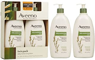 Aveeno Active Naturals Daily Moisturizing Lotion, Twin Pack 20 OZ