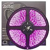 ぶーぶーマテリアル 色が綺麗なLEDテープ ピンク 600 LED 白ベース 5m 12V 防水
