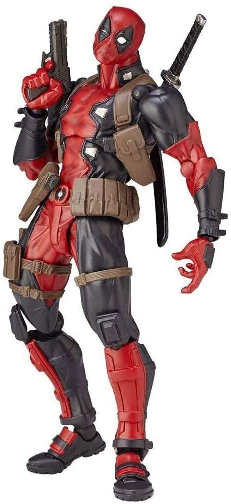 Amazon.com: Deadpool Action Figure Superhero Movie Anime PVC Figure Movable Characters Model Statue Toys Desktop Ornaments : Toys & Games