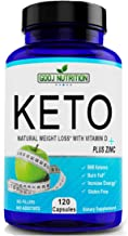 Keto Diet Pills Starter Pack with Keto BHB and Test Strips (120)