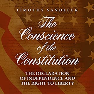 The Conscience of the Constitution audiobook cover art