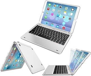 iPad Air 10.5-inch Keyboard, Arteck Ultra-Thin Bluetooth Keyboard with Folio Full Protection Case for Apple iPad Air 3 10.5-inch (2019) / iPad Pro 10.5-inch (2017) with 130 Degree Swivel Rotating