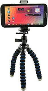 Arkon Mini Tripod with Universal Phone Mount Holder for iPhone X 8 7 6S Plus iPhone 8 7 6S Retail Black
