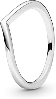 Pandora Women's Sterling Silver 925 Silver Ring, 7 US - 196314-54