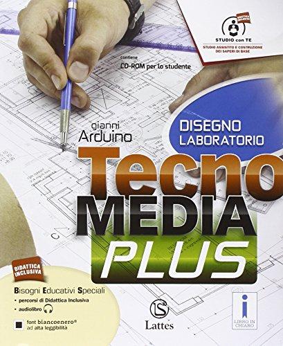 Tecnomedia plus. Settore produzione. Tavole illustrate-Disegno-Mi preparo e DVD. Per la Scuola media. Con CD. Con e-book. Con espansione online