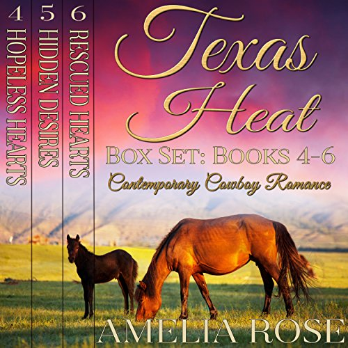 Texas Heat Box Set - Books 4-6 cover art
