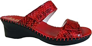 La Plume Nina Womens Sandals, Red, Size - 40